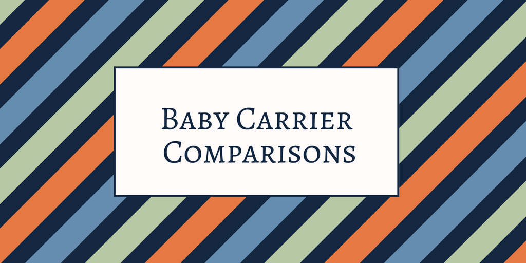 Full buckle carrier versus ring sling