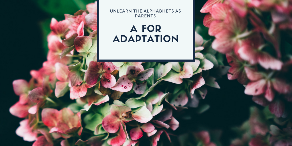 A for Adaptation : Tricks for Surviving the First Year of Parenthood